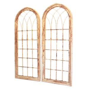 Set of Tall Arched Windows