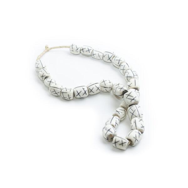 Mixed Bone and Wood Beads