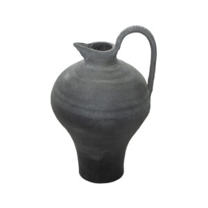 Black Ceramic Jug