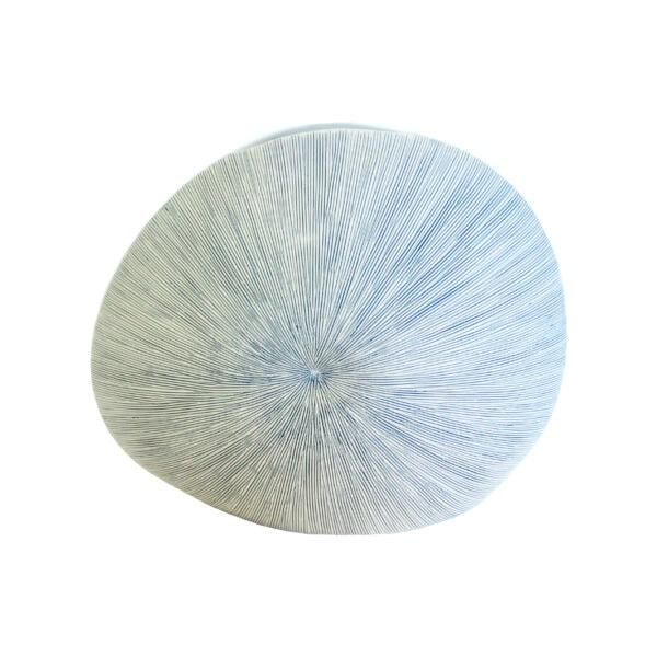 Light Blue Stripe Diva Vase