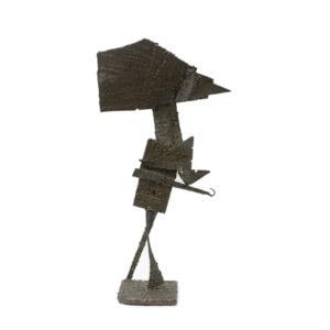 Abstract Metal Sculpture