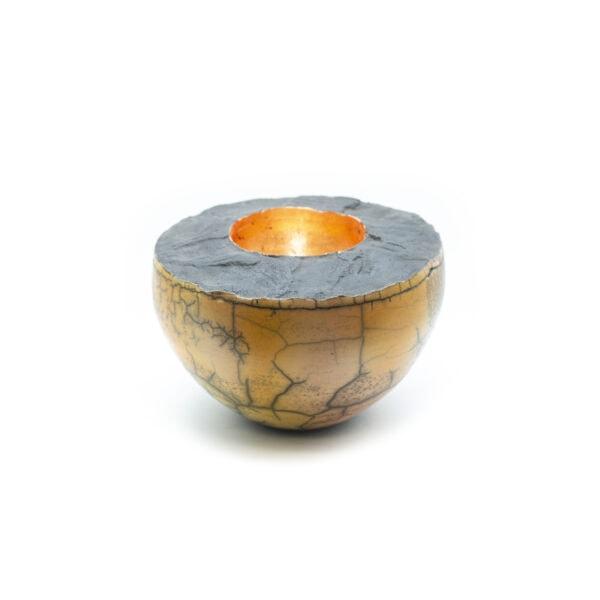 Copper Raku Bowl
