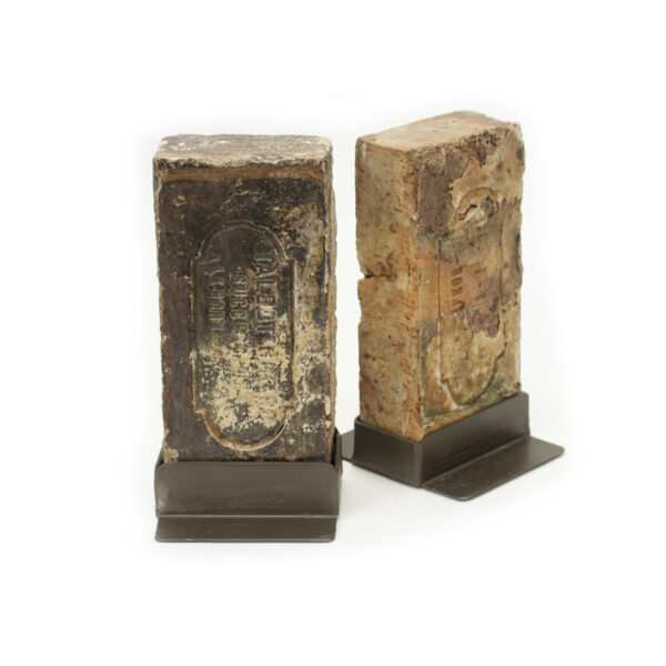 Antique Brick Bookends
