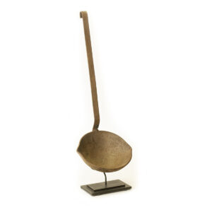 Cast Iron Ladle on Stand
