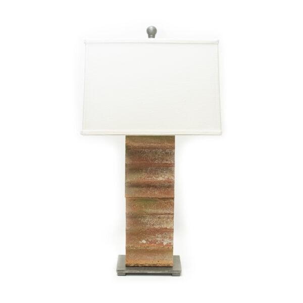 Terracotta Tile Table Lamp