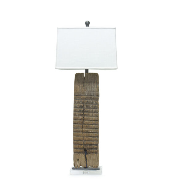 Antique Washboard Table Lamp