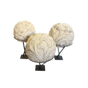 Terracotta Garden Balls