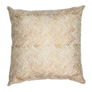 Zig Dots Copper Lounge Pillow